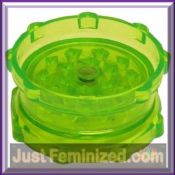 Justfeminized Coloured Magnetic Plastic Grinders